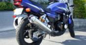 レンタルバイクのXJR400