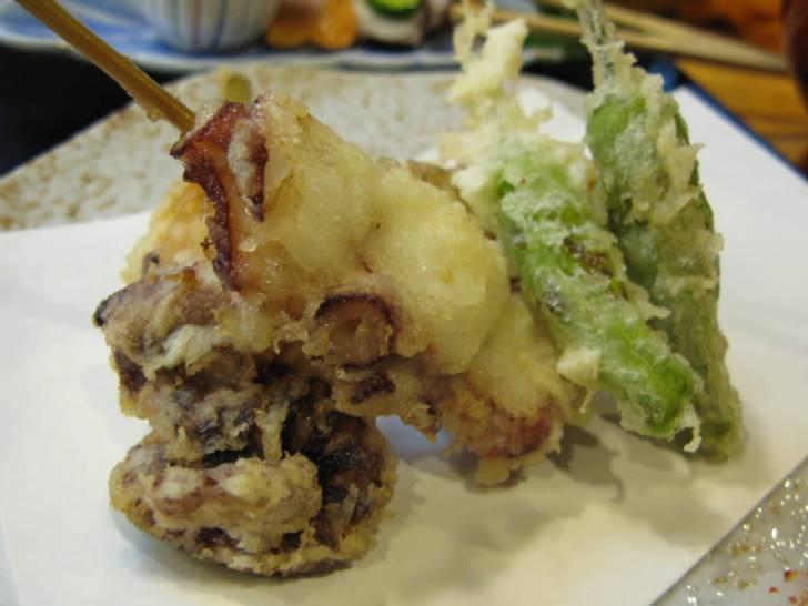 蛸の天ぷら